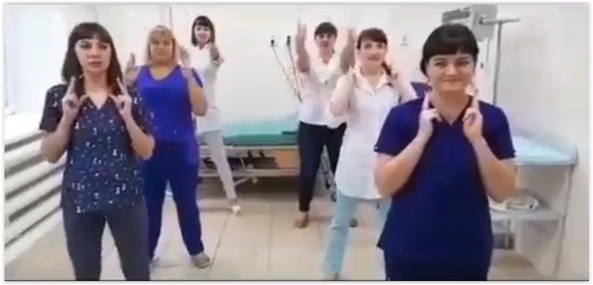 Барнаульские акушерки сняли клип про свой роддом под песню Бузовой