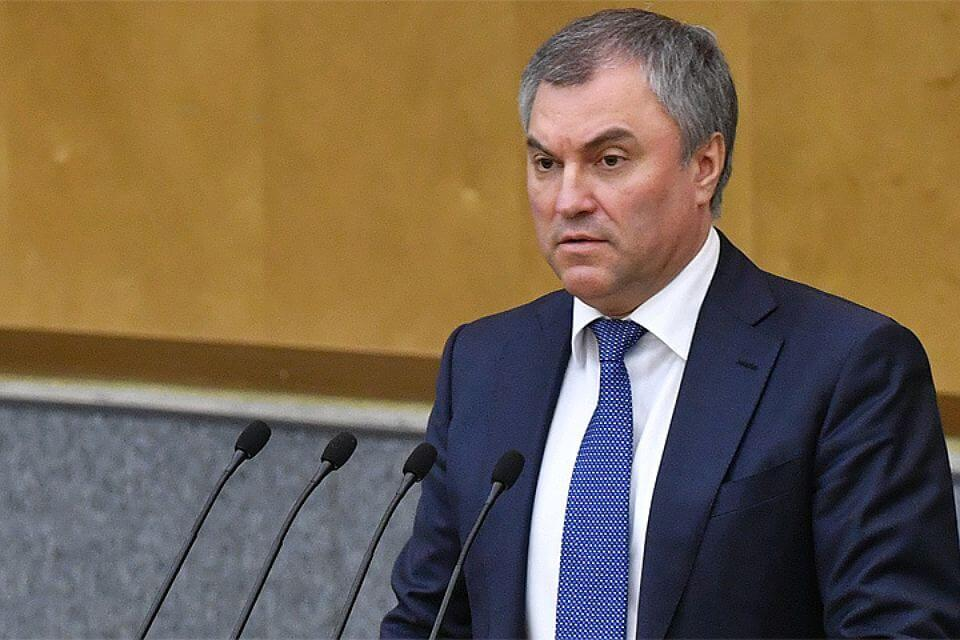 Володин предложил расследовать факты ущемления прав фармпроизводителей РФ