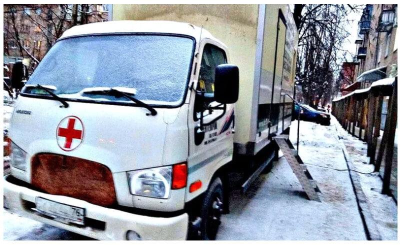 В Ярославле у частной клиники арестовали рентгенавтомобиль из-за пропущенного туберкулёза