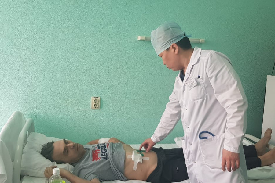 Житель Кемерова попал к хирургам, похудев на 15 кг за неделю из-за язвы