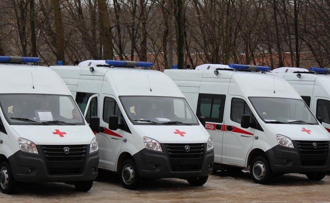 Ульяновским больницам закупили пять новых автомобилей «скорой»
