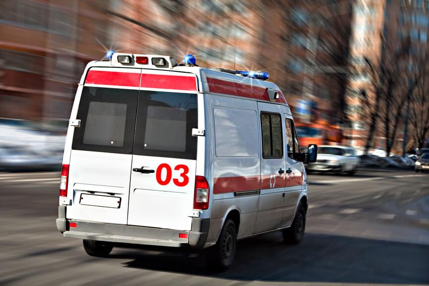 В Барнауле при ДТП пострадал пассажир «скорой»