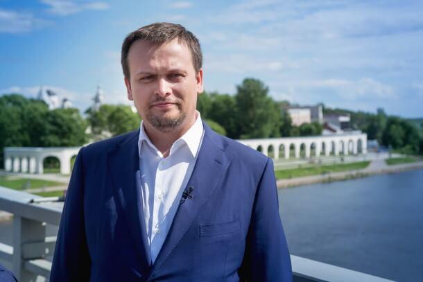 Новгородский губернатор Андрей Никитин
