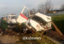 В Краснодарском крае в ДТП со «скорой» погибли трое, двое в тяжёлом состоянии