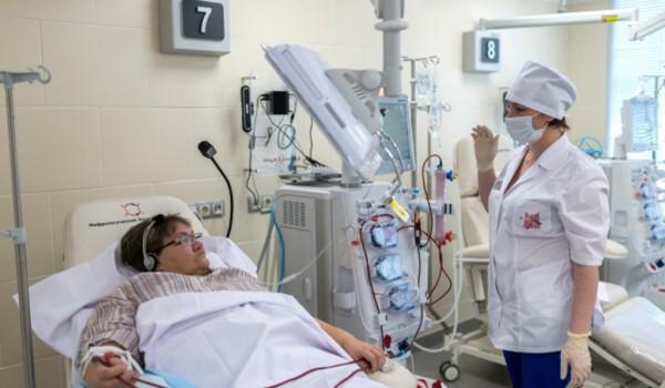 В Московской горбольнице открылось первое отделение реанимации для гематологических больных