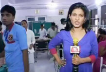Индийская телеведущая, кричавшая на врачей, была раскритикована в интернете