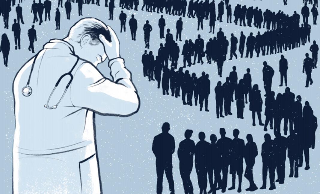 """Аналитики НИИОЗММ: московские врачи """"выгорают"""", не смотря на рост зарплат"""
