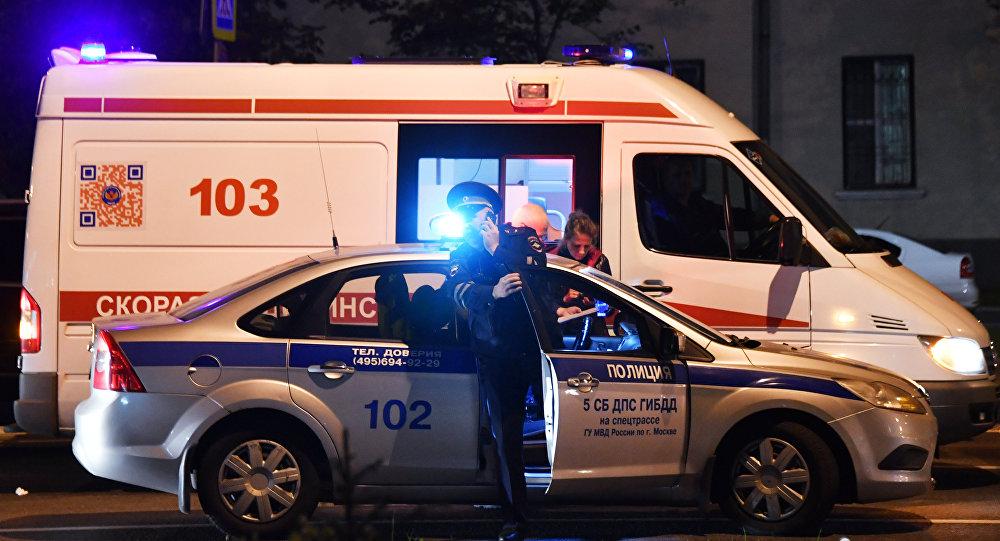 Омская скорая+полиция