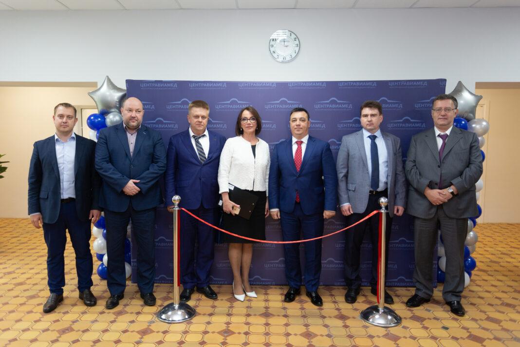 """Клиника «Центравиамед» совместно с АО """"ОДК"""" производственный комплекс «Салют» открывает новый филиал в ВАО г. Москвы"""