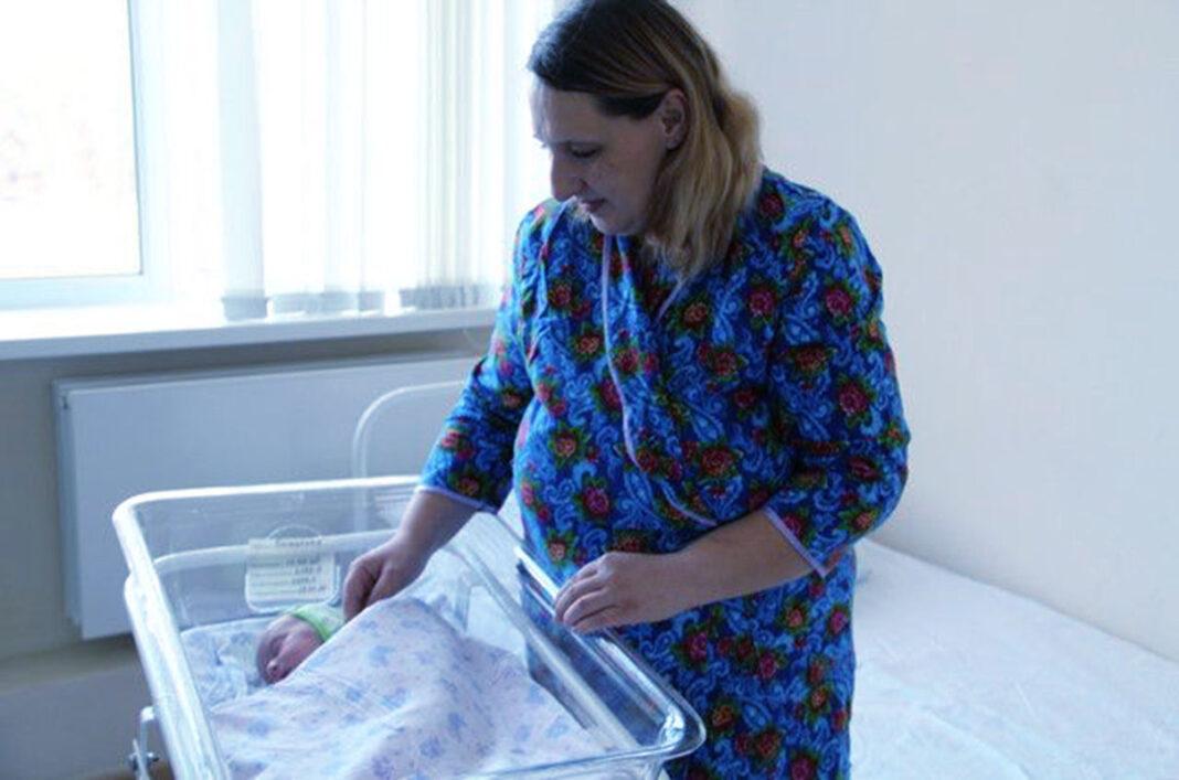 Женщина выносила ребёнка в брюшной полости