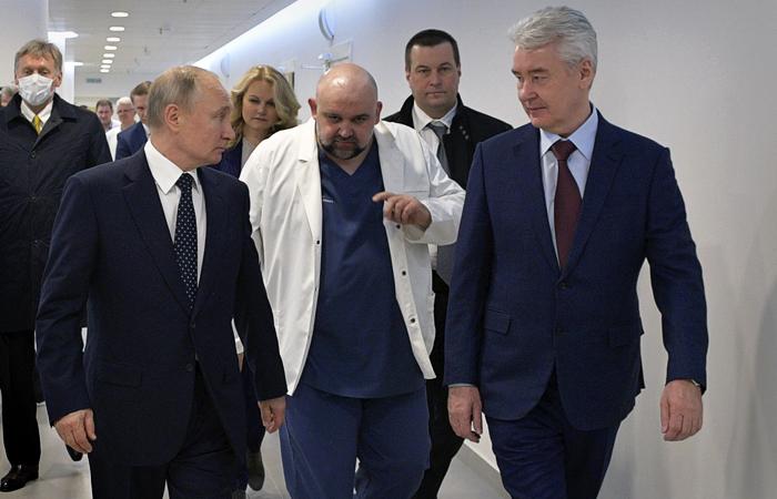 Главврач предложил Путину отработать итальянский сценарий коронавируса