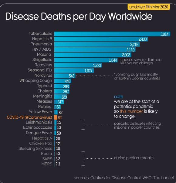 Кардиолог, терапевт Университетской клиники головной боли Ярослав Ашихмин рассказал о том, действительно ли так страшен коронавирус, от каких инфекций умирает больше всего людей, как люди не следят за здоровьем, а потом паникуют из-за «эпидемии» и надевают марлевые маски. Об этом он написал на своей странице в Facebook.