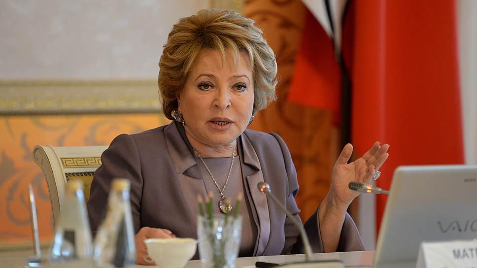 «Медицинское рабство закончилось»: Матвиенко призвала дать пациентам выбор