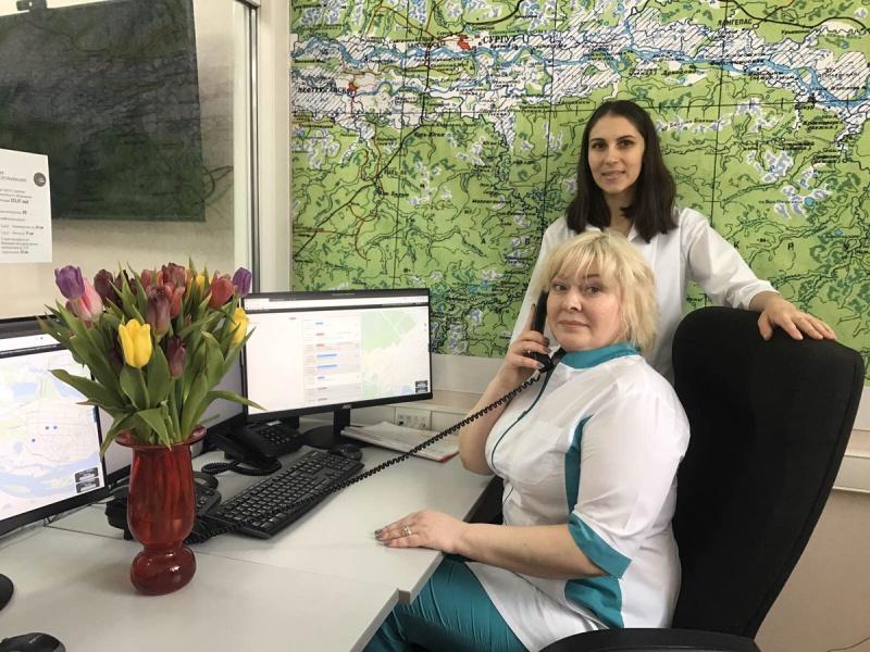 В Сургуте диспетчер «скорой» приняла роды по телефону