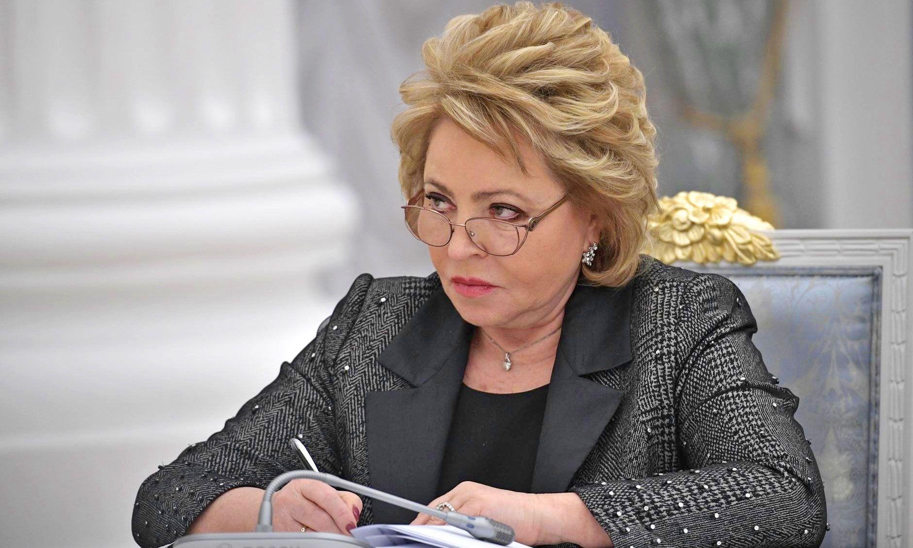 Матвиенко завила, что в России нет реальной страховой медицины