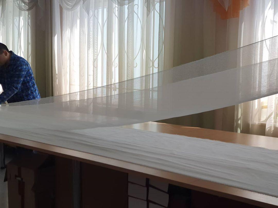 Пациенты психиатрической больницы шьют маски для медработников РКБ Куватова