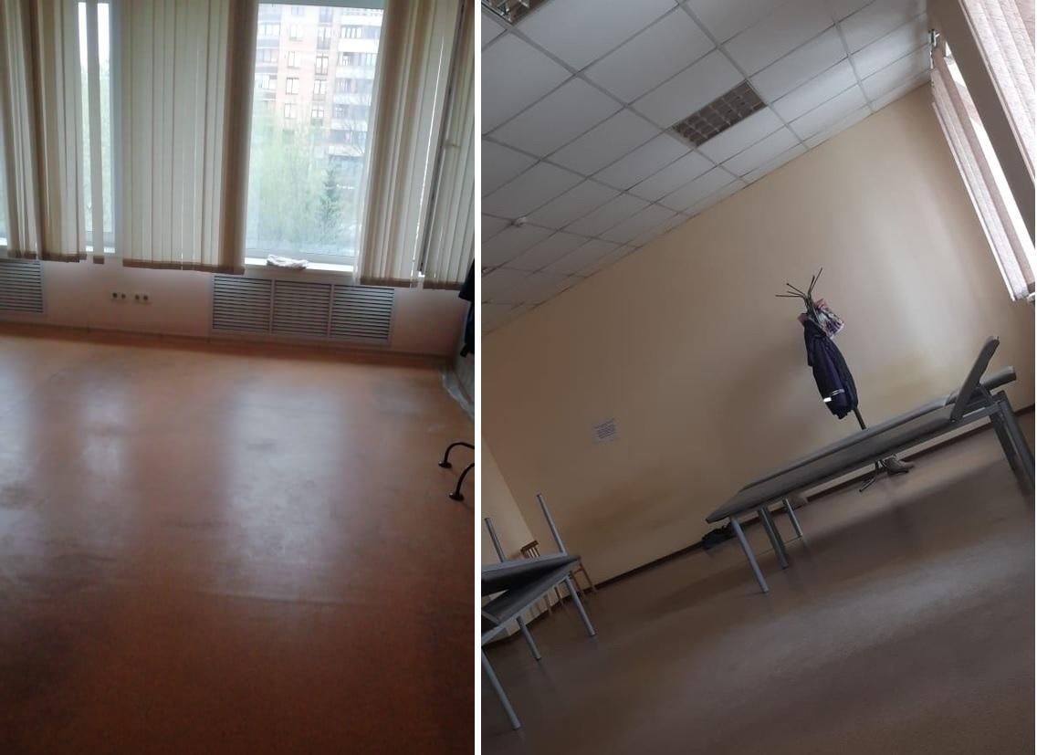 Главный врач Центральной подстанции скорой медицинской помощи Новосибирска убрала все кровати из комнаты отдыха, поэтому сотрудникам между вызовами приходится спать прямо на полу, говорит врач СМП. Об этом он сообщили в паблике во Вконтакте «Инцидент Новосибирск».