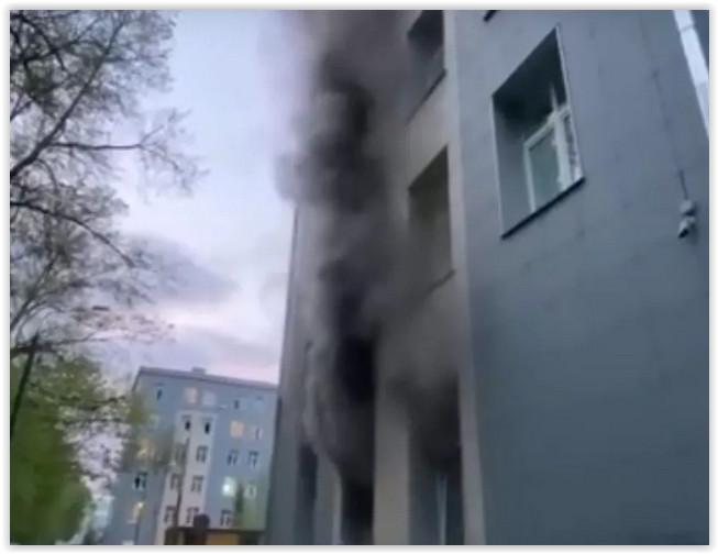 В «коронавирусной» больнице при пожаре погиб пациент