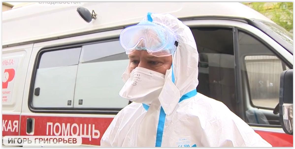 «Тяжело дышать»: реаниматолог – о работе на «скорой» в период пандемии