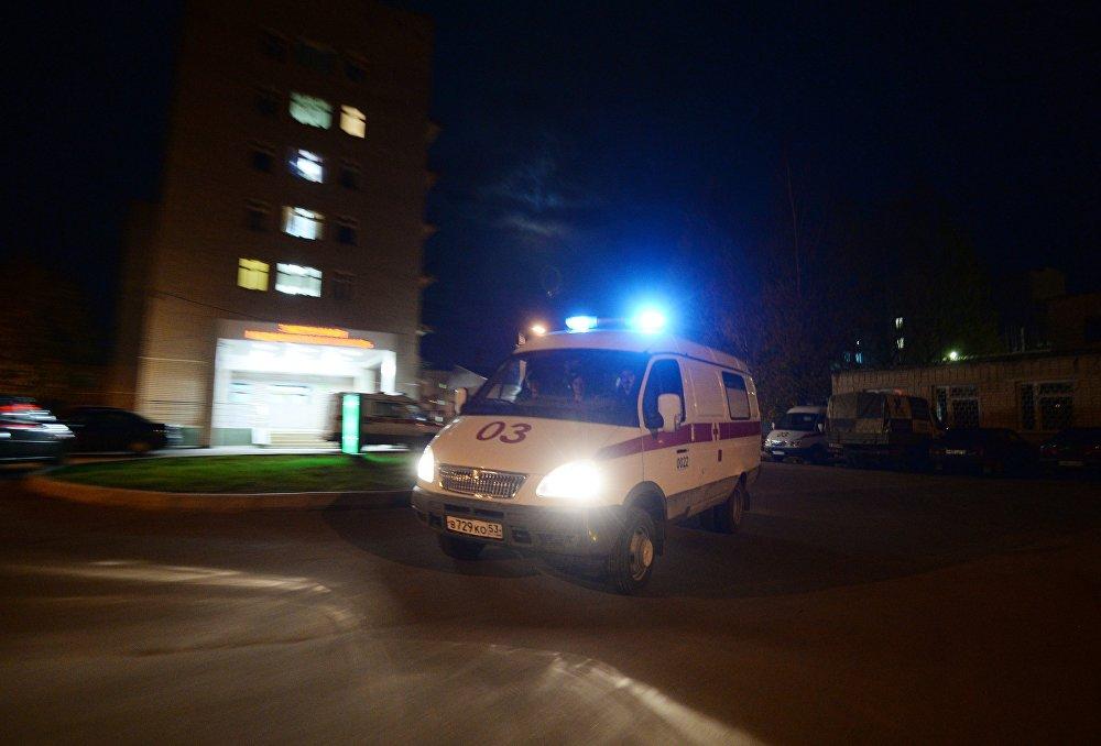 Пьяные челябинцы разбили машину скорой помощи, требуя осмотра