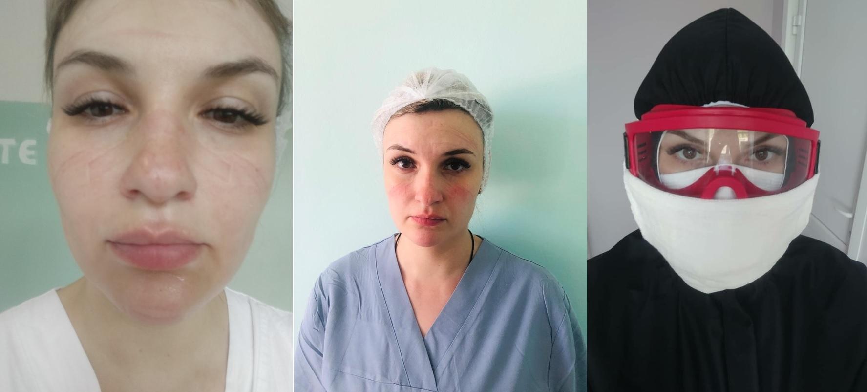 Медсестра COVID-госпиталя: «Если я упаду в обморок, помочь мне будет некому»