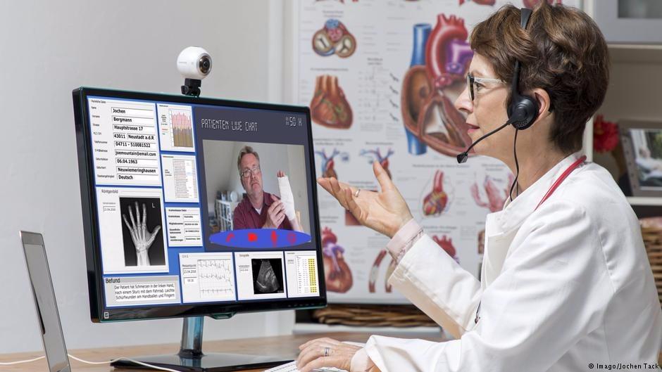 В России хотят исключить очное посещение врача для постановки диагноза и лечения через интернет