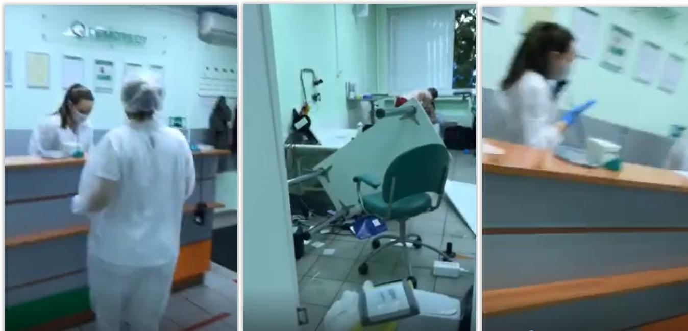 Москвич разгромил частную клинику, где проводят тесты на коронавирус