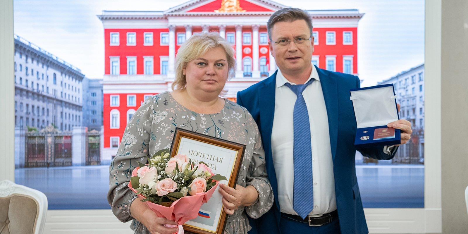 В Москве наградили врачей за борьбу с пандемией коронавируса