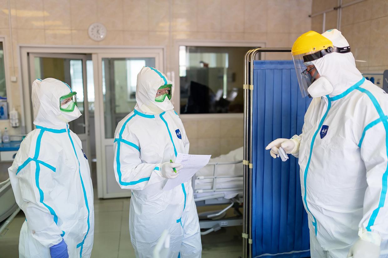 В России занято 81% коечного фонда для лечения коронавируса