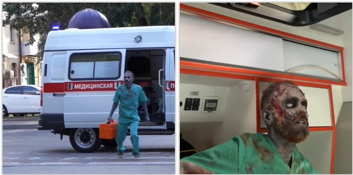 Полиция разыскивает «фельдшера-зомби», пугающего людей из-за смерти матери