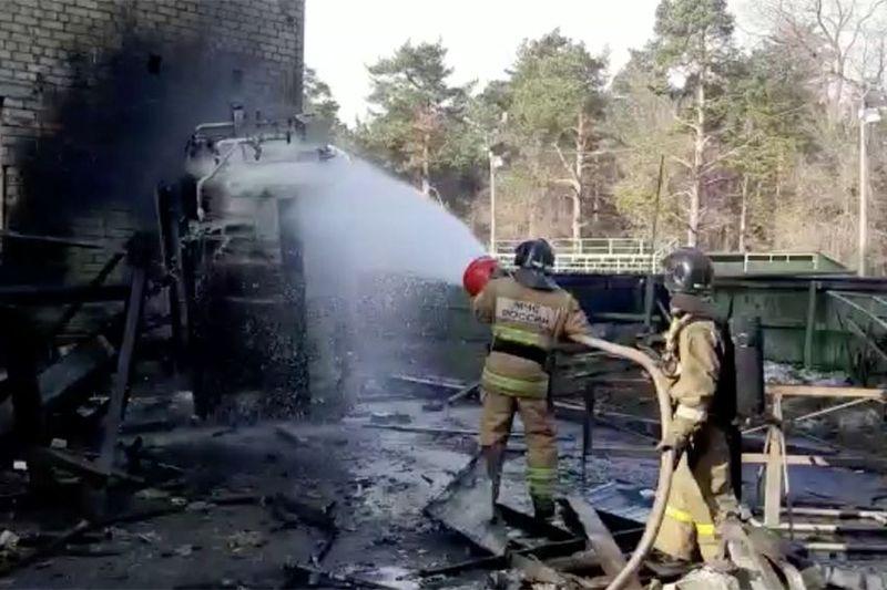 В челябинском covid-госпитале произошёл взрыв в кислородной будке