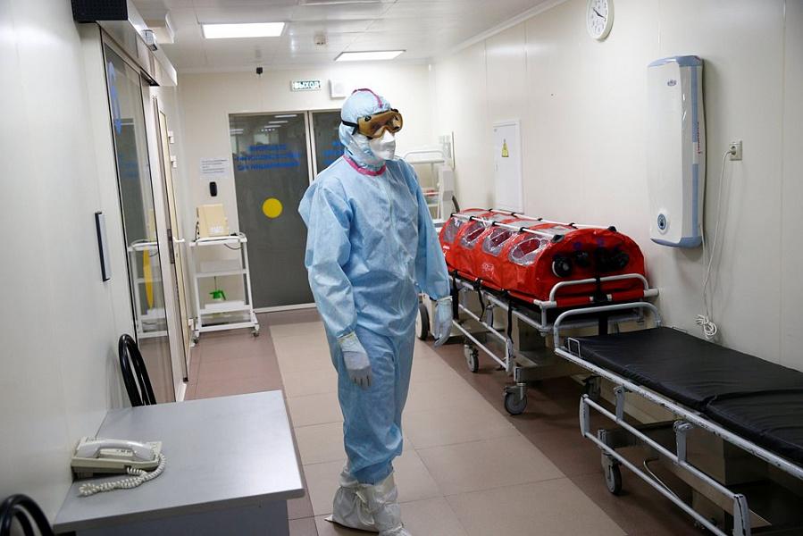 В Бурятии за неделю развернули 700 дополнительных коек для больных с коронавирусом