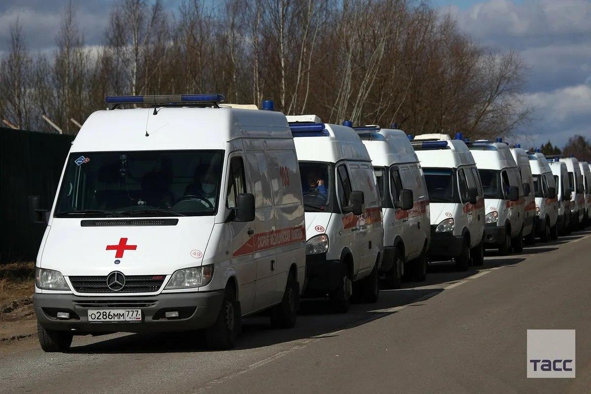 Москва установила антирекорд по количеству госпитализированных с COVID-19 за сутки