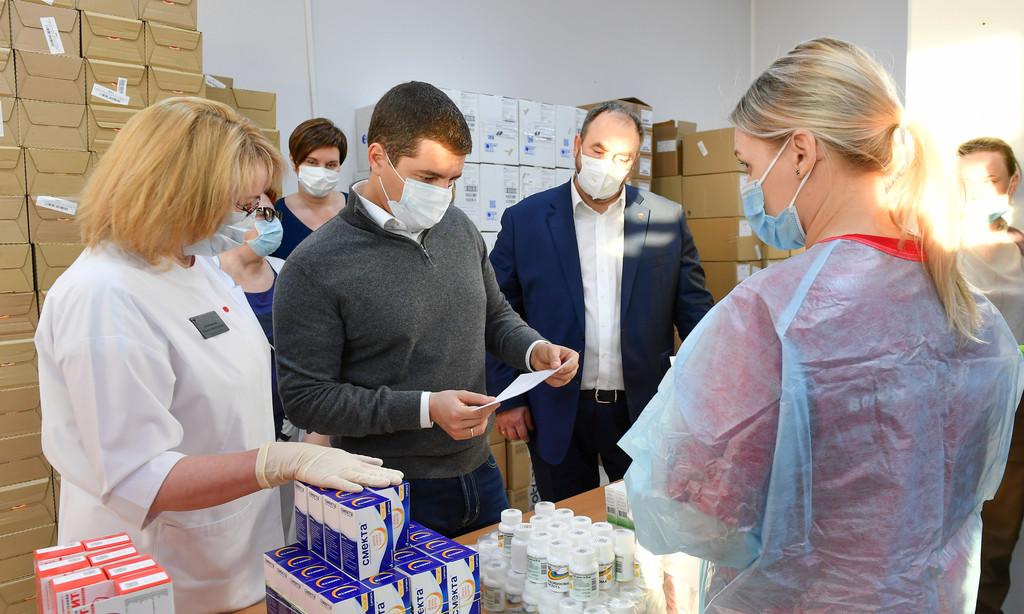 На Ямале пациентам раздадут 86 тысяч наборов лекарств от ОРВИ