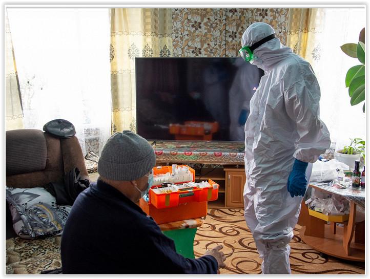 «Много вызовов с истериками»: Скорая помощь Горно-Алтайска работает в усиленном режиме