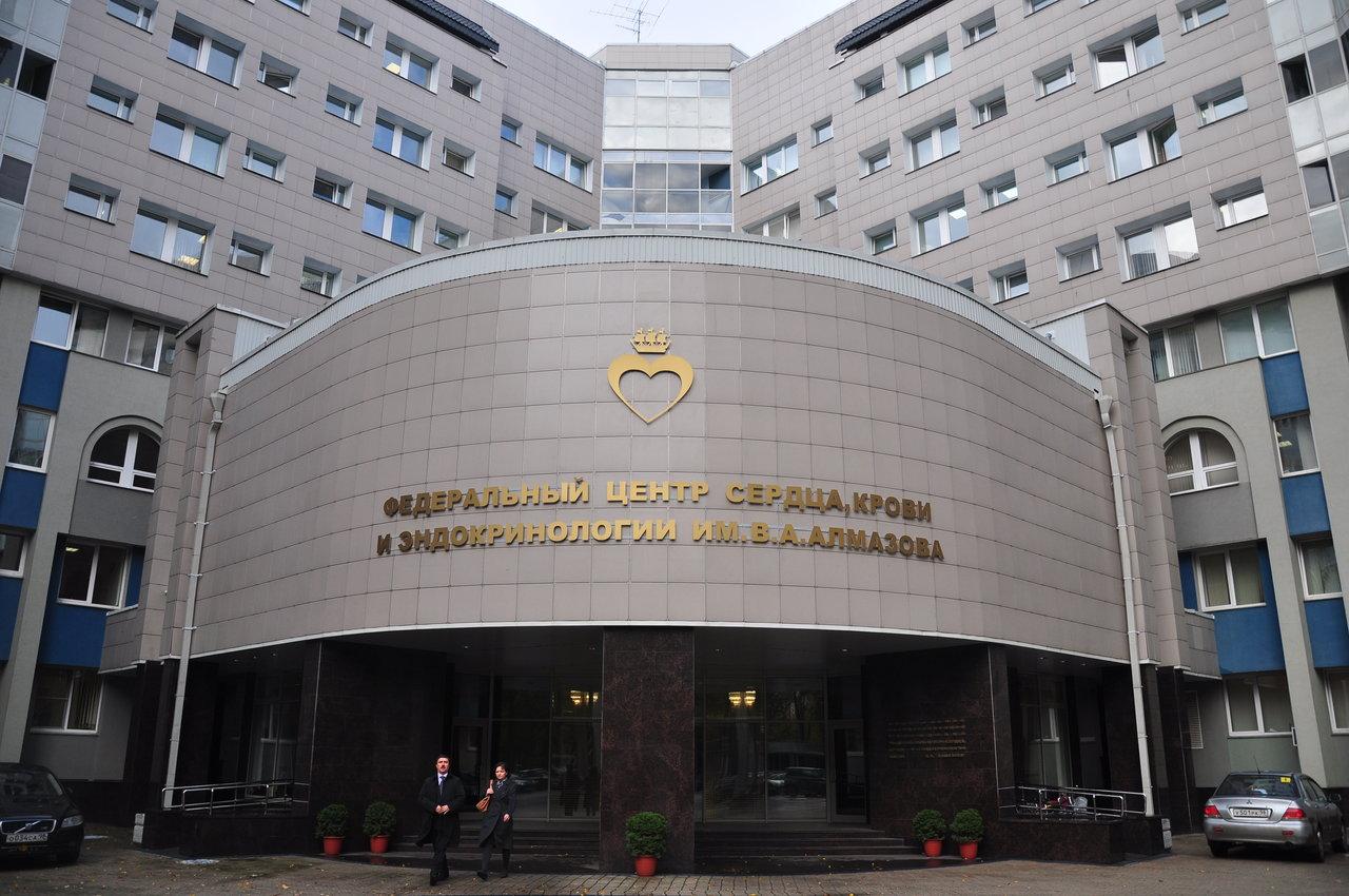 Федеральный центр Алмазова начал приём пациентов с коронавирусом