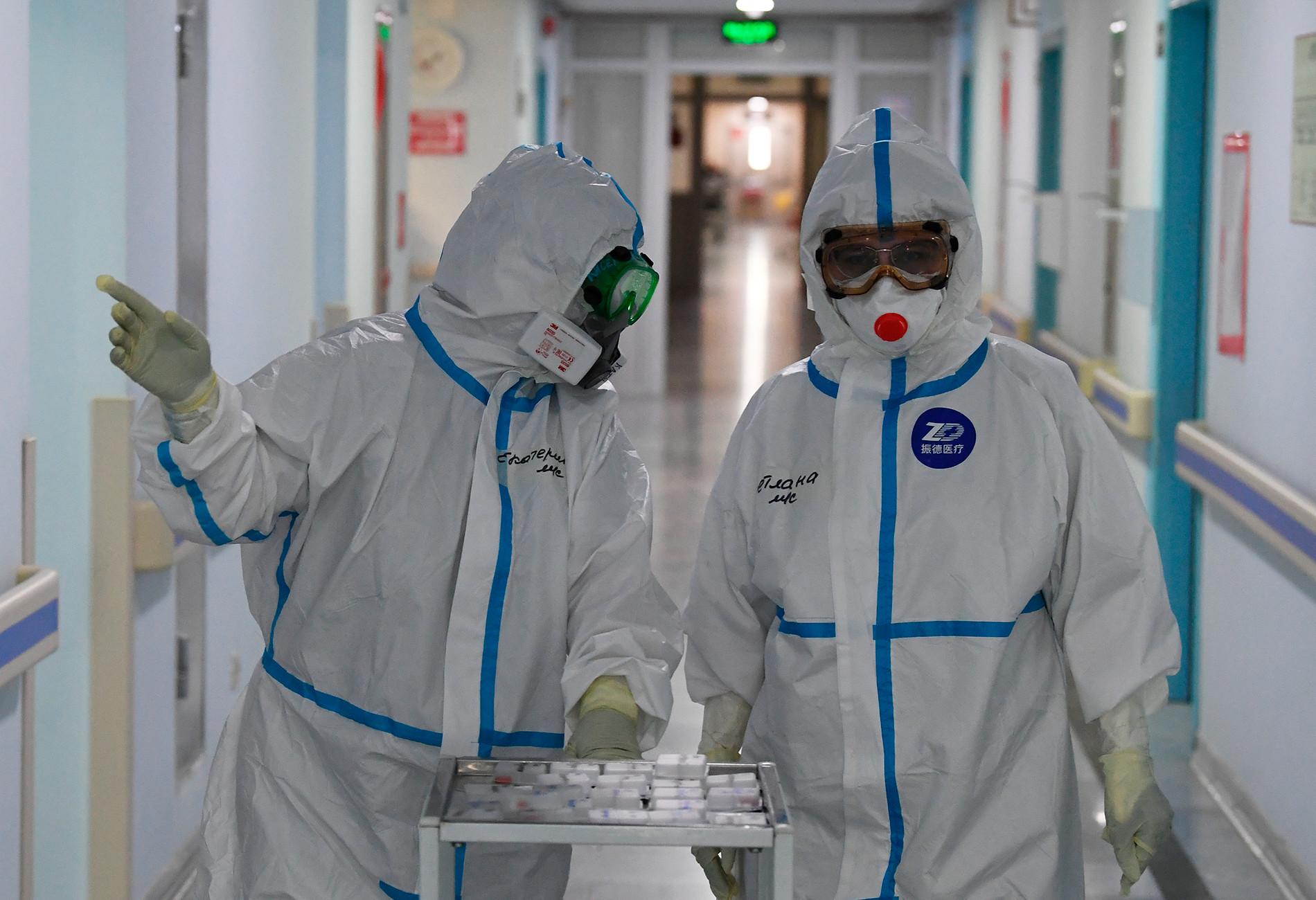Медработники ковид-госпиталей Москвы получат дополнительные выплаты