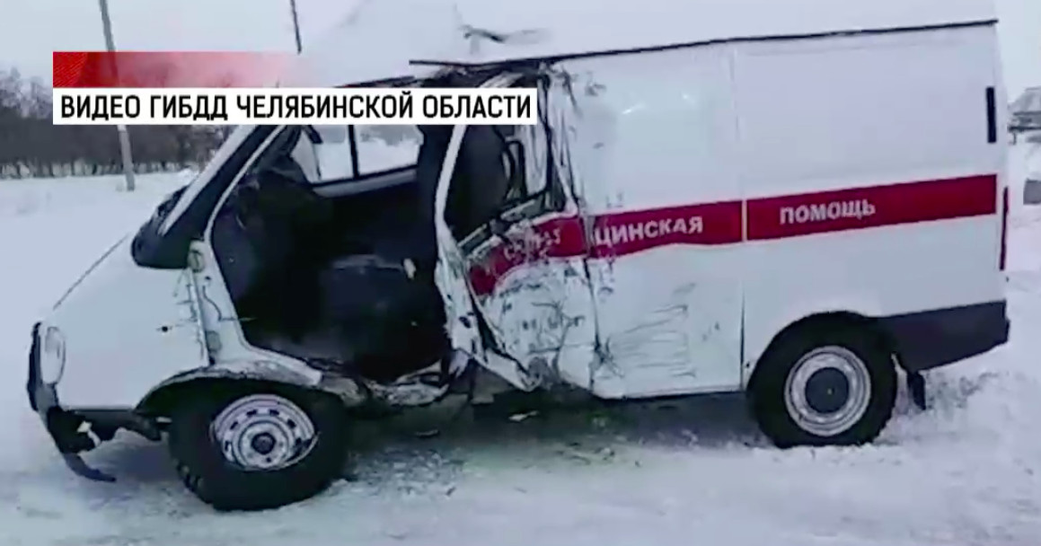 В ДТП со «скорой» погибла пациентка