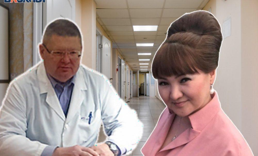 Главврач больницы во время планёрки набросился на свою заместительницу