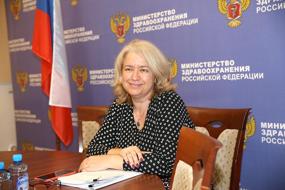 Глава Фонда обязательного медицинского страхования Елена Чернякова