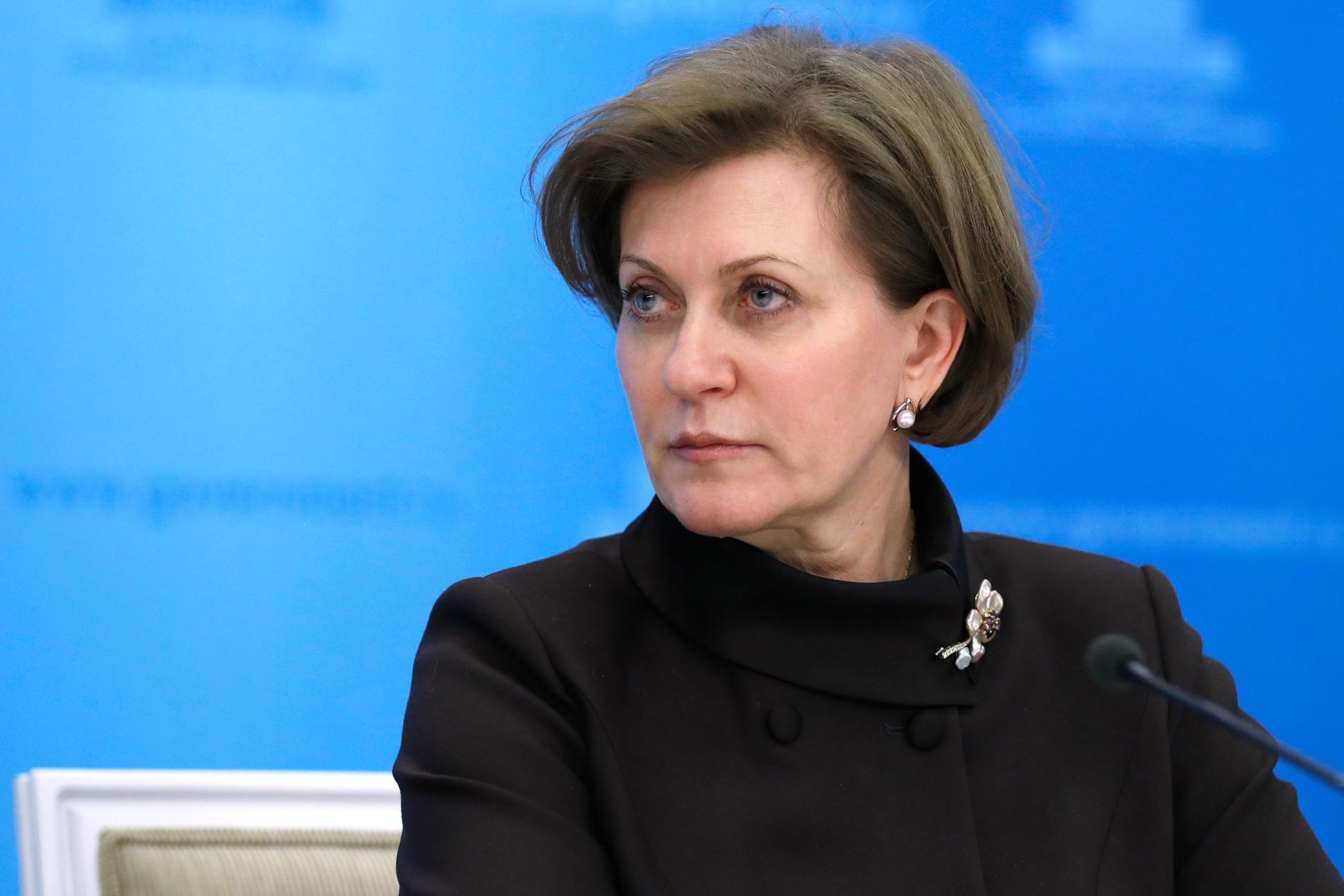 Попова: На одного инфицированного новыми штаммами коронавируса приходится по 23 контактных