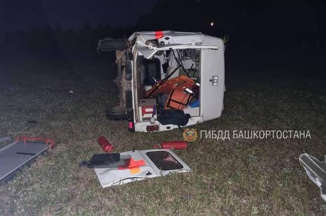 В Башкортостане при ДТП погибла фельдшер скорой помощи