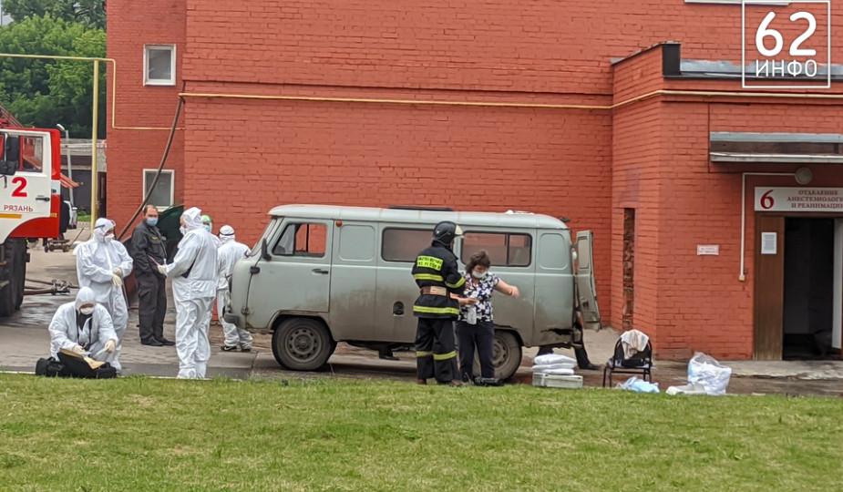 При пожаре в рязанской больнице погибли трое, восемь человек пострадали
