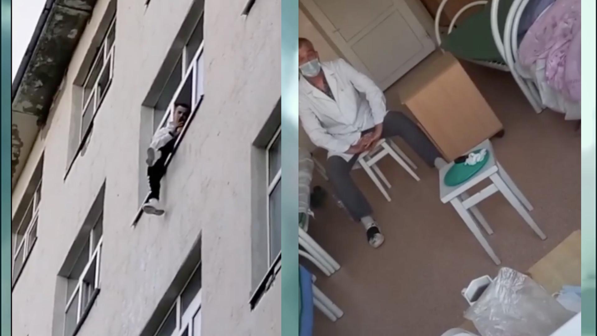 «Сказал, что убьёт всех из-за жены»: мужчина ворвался в больницу и угрожал выброситься из окна