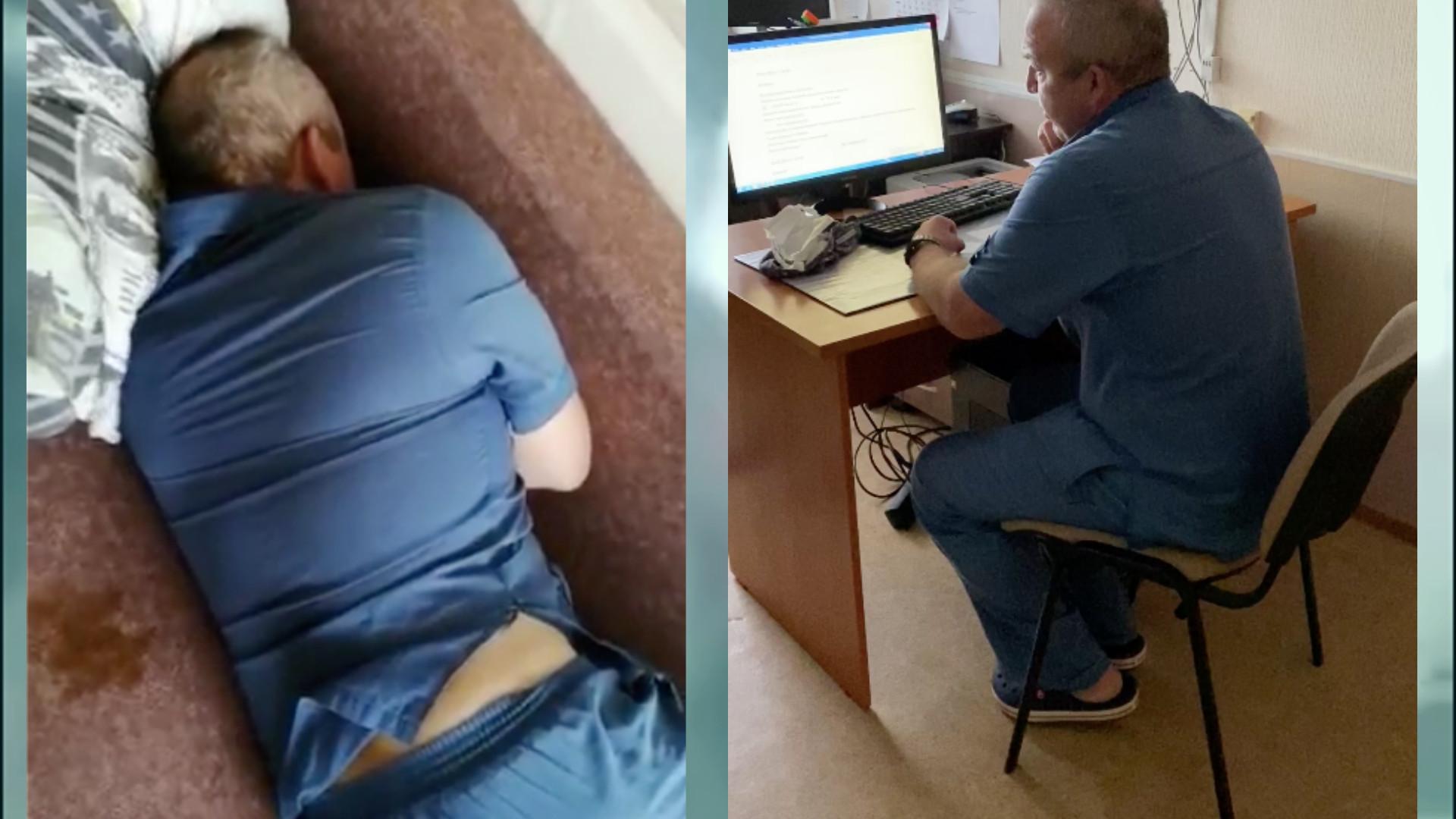 Двух слов связать не мог»: в пермской больнице сняли на видео «пьяного» врача