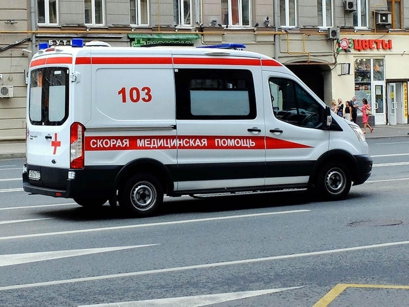 В ДТП со «скорой» пострадали два фельдшера