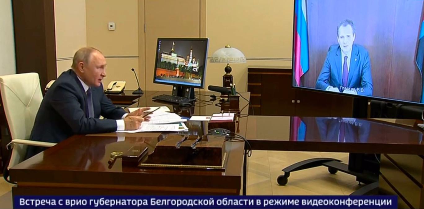 Путин поручил устранить нехватку врачей в Белгородской области