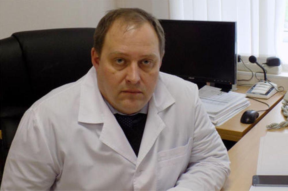 Главный врач екатеринбургской больницы № 24 Алексей Малинкин
