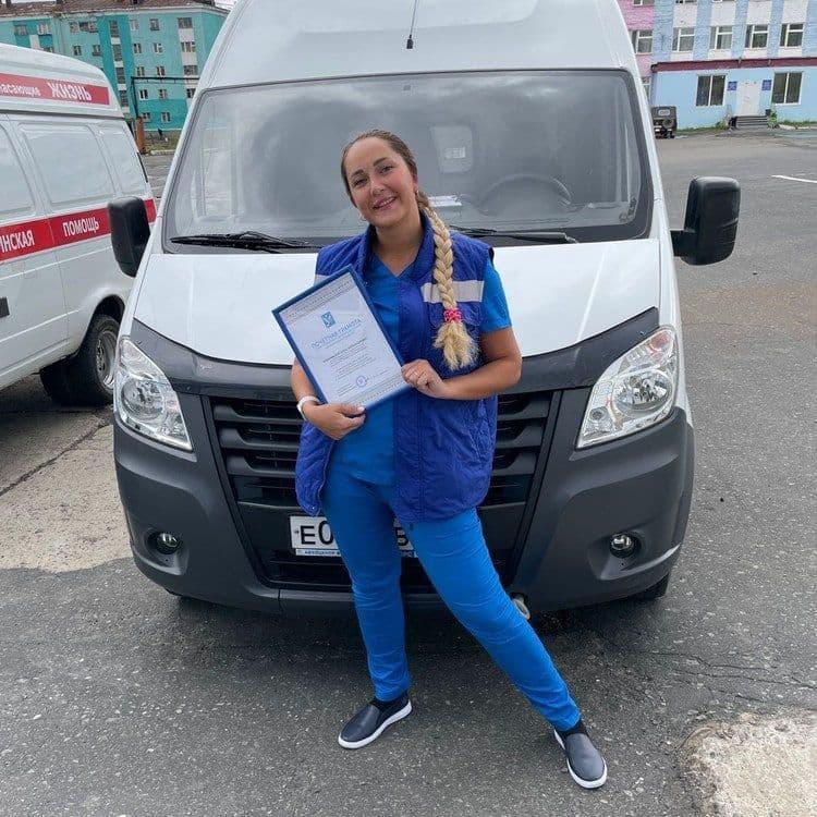 Фельдшер из заполярного посёлка помогла вылечить от коронавируса экипаж теплохода