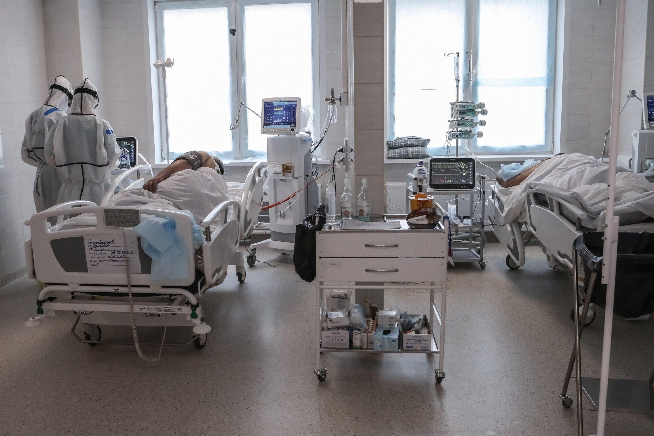 «Роскосмос» приостановил испытания ракетных двигателей и передал кислород ковид-госпиталям